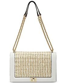 Ajae Weave Satchel, Created for Macy's