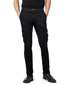 Men's Belted Cargo Pants