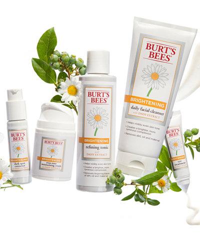 Burt's Bee's Brightening Collection
