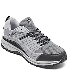 Women's Fila Evergrand Trail Running Sneakers from Finish Line
