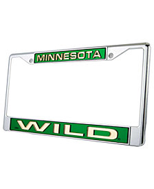 Rico Industries Minnesota Wild Laser License Plate Frame