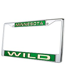Rico Industries Minnesota Wild Laser License Plate Frame