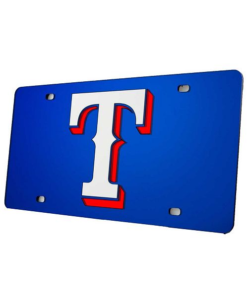 Rico Industries Texas Rangers Laser Tag License Plate