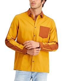 Men's Kendar Colorblocked Shirt, Created for Macy's