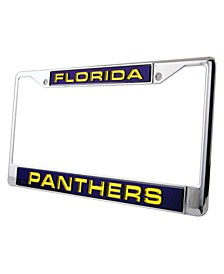 Florida Panthers Laser License Plate Frame