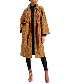 Printed Trench Coat, Created for Macy's
