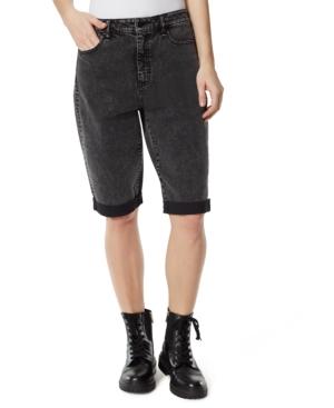 Cuffed Boyfriend Denim Shorts