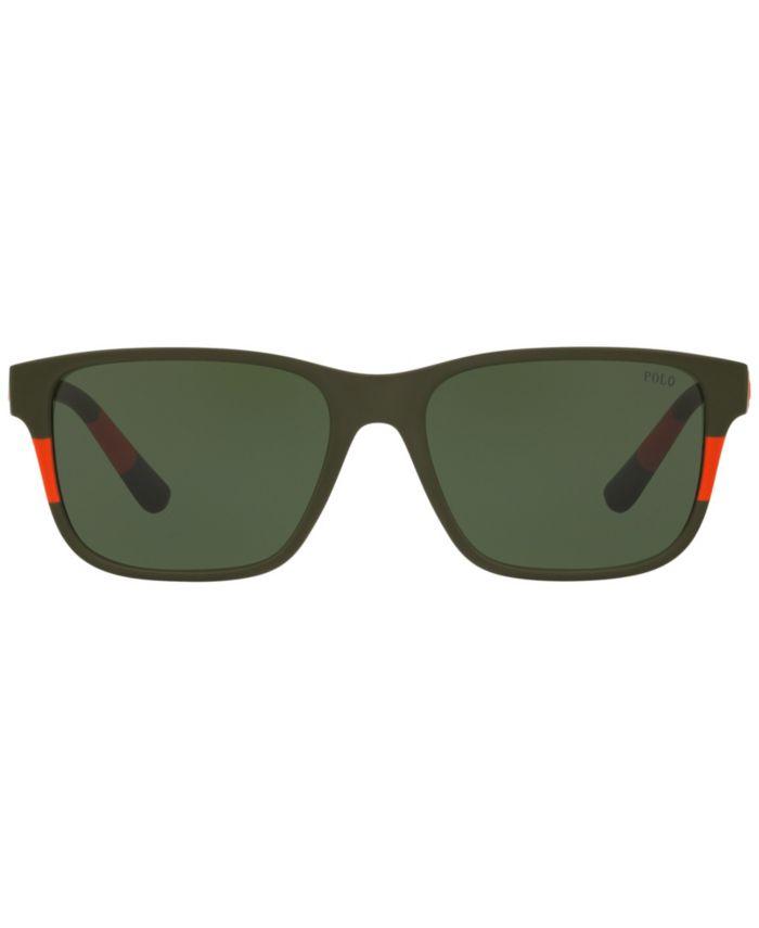 Polo Ralph Lauren Sunglasses, PH4137 57 & Reviews - Sunglasses by Sunglass Hut - Men - Macy's