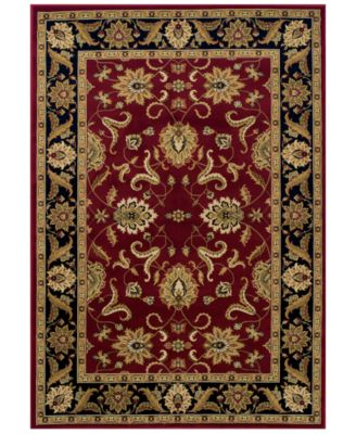 CLOSEOUT! St. Charles STC524 Red 3' x 5' Area Rug