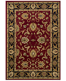 "CLOSEOUT! Dalyn St. Charles STC524 Red 9'6"" x 13'2"" Area Rug"