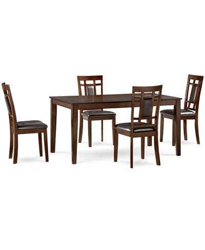 Delran 5-Piece Dining Room Furniture Set, Only at Macy\'s ...