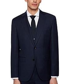 BOSS Men's Three-Piece Regular-Fit Suit