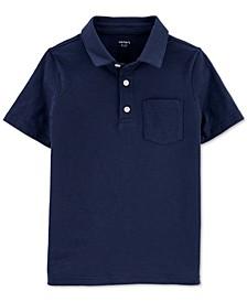 Little Boys Jersey Polo