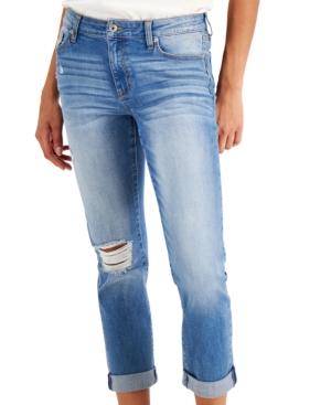 Juniors' Girlfriend Jeans