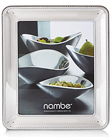 "Nambe Braid 8"" x 10"" Frame"