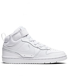 Little Kids Court Borough Mid 2 Stay-Put Closure Casual Sneakers from Finish Line