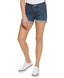 "4"" Curvy Denim Shorts"