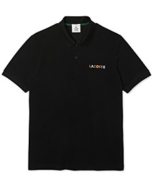 L!VE Relaxed Fit Embroidered Cotton Piqué Knit Polo