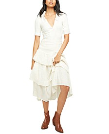 Can't Stop Spring Cotton Skirt