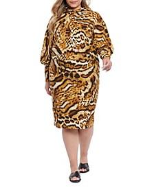 Plus Size Rachael Hoodie Dress
