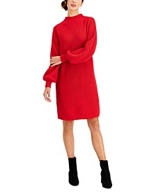 Mock Neck Sweater Dress, Created for Macy's