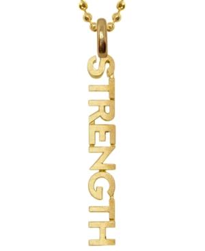 Mini X Wellness Strength Pendant