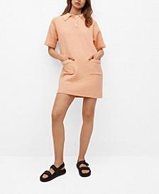Women's Polo-Style Knit Dress