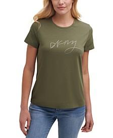 Rhinestone Graphic T-Shirt