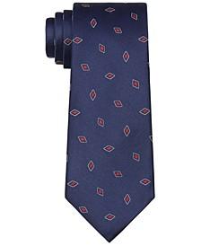 Men's Outlined Diamond Tie