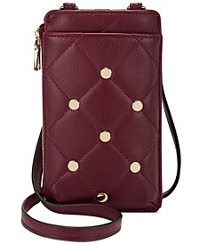 Rynn Stud Quilted Crossbody, Created for Macy's