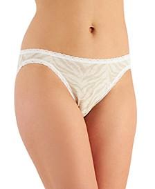 Women's Lace Trim Bikini Underwear, Created for Macy's