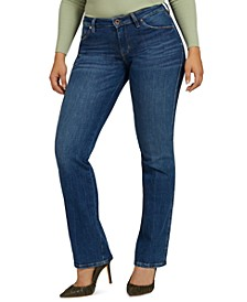 Sexy Straight-Leg Jeans