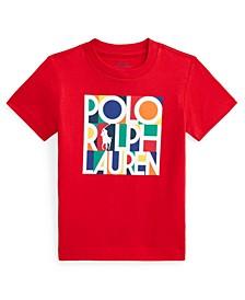 Toddler Boys Logo Cotton Jersey T-shirt