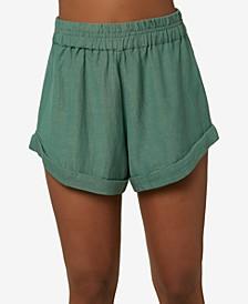 Juniors' Alden Solid Shorts