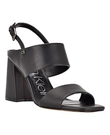 Women's Qeelin Adjustable Ankle Strap High Heel Dress Sandals