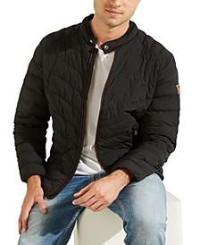 Men's Slim-Fit Puffer Jacket