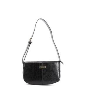 Women's Iris Croco Shoulder Bag