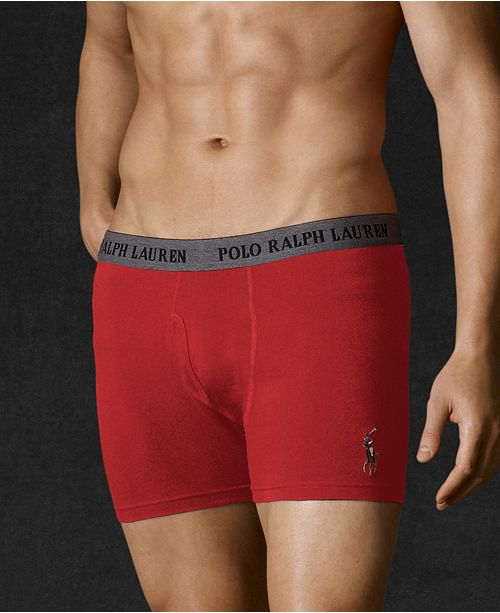 08e7a2f6e67e Polo Ralph Lauren Men's Cotton Stretch Boxer Briefs & Reviews ...