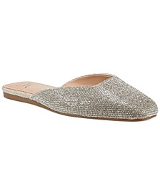 Joslyn Square-Toe Flat Mules, Created for Macy's