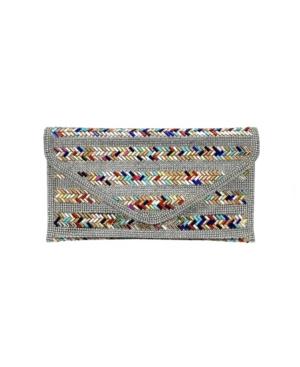 Nyla Multi Color Crystal Envelope