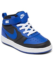 Toddler Boys Court Borough Mid 2 Stay-Put Casual Sneakers from Finish Line