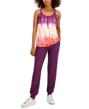 Women's Tie-Dyed Strappy Tank Top