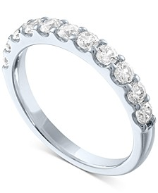 Lab-Created Diamond Band (3/4 ct. t.w.) in Sterling Silver, 14k Gold-Plated Sterling Silver or 14k Rose Gold-Plated Sterling Silver
