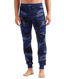 Men's Waffle-Knit Jogger Pajama Pants