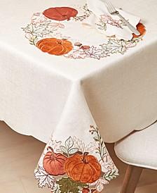 Pumpkin Farm Cutwork Table Linens Collection