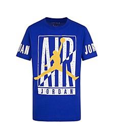 Big Boys Short Sleeve Air Height Advantage Logo Graphic T-shirt