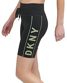 Sport Women's Drawstring Bike Shorts
