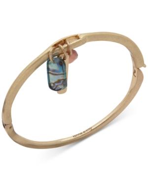 Gold-Tone Shaky Bangle Bracelet