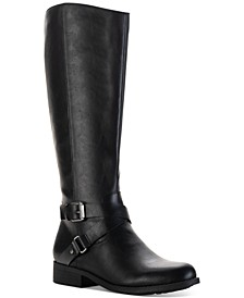 Marliee Wide-Calf Riding Boots, Created for Macy's