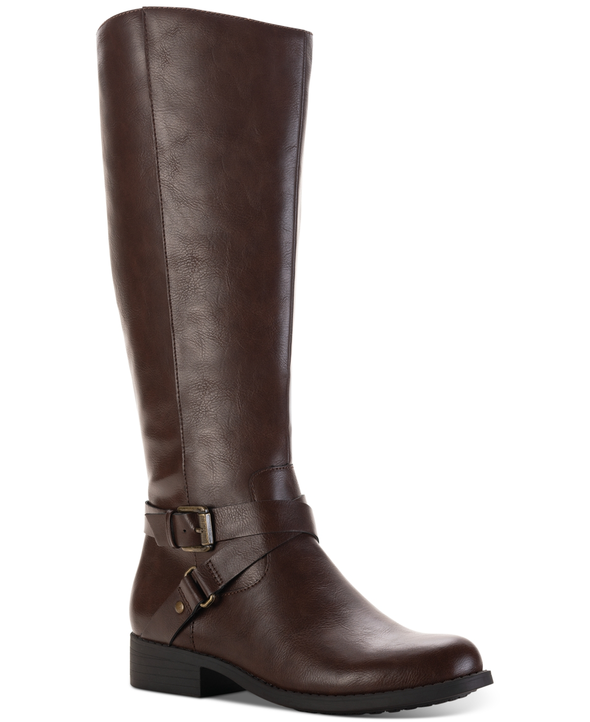 Style & Co Marliee Wide-Calf Riding Boots, Created for Macy's Women's Shoes